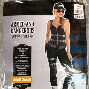 Armed And Dangerous Adult Costume! New!